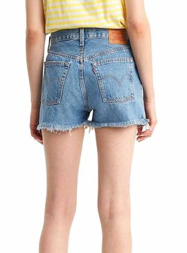 Short Levis 510 High Rise Azul Mujer