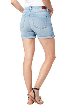 Short Pepe Jeans Mary Light Denim Mujer