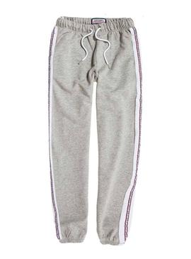 Pantalones Superdry Alicia Joggers Gris Mujer