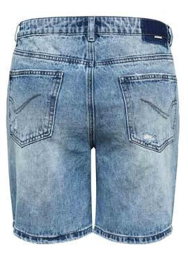 Bermuda Only Dana Light Denim Mujer