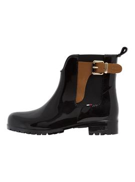 Botas Tommy Hilfiger Oxley Negro Mujer