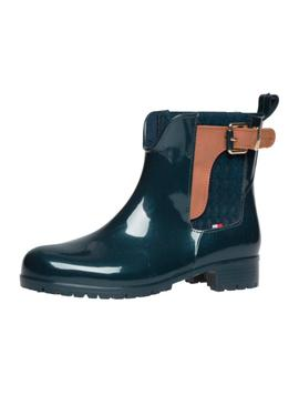 Botas Tommy Hilfiger Oxley Marino Mujer