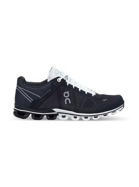 Zapatillas On Running CloudFlow Black White Mujer