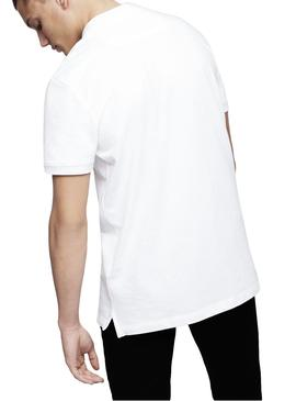 Polo Diesel T-Heal Blanco Hombre