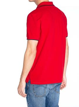 Polo North Sails Graphic Rojo Hombre