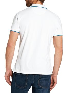 Polo North Sails Blanco Hombre