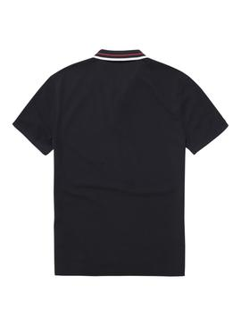 Polo Tommy Jeans Clasico Negro Hombre