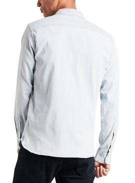 Camisa Levis Sunset Light Denim Hombre