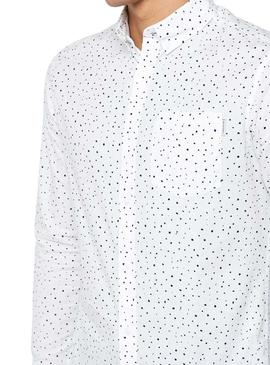 Camisa Jack and Jones Bruce Blanco Hombre