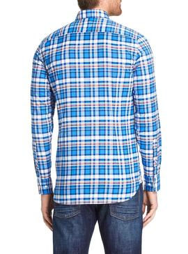 Camisa Tommy Hilfiger Authentic Azul Hombre