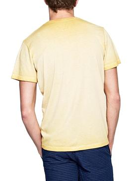 Camiseta Pepe Jeans West Sir Amarillo Hombre