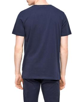 Camiseta Jack and Jones Voyage Azul Hombre
