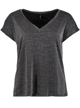 Camiseta Only Reese Gris