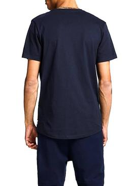 Camiseta Jack and Jones Jcojackson Marino Hombre
