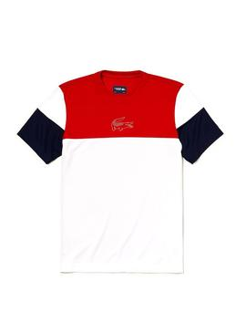 Camiseta Lacoste TH3421 Multicolor Hombre