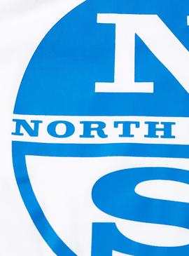 Camiseta North Sails Logo Blanco Hombre