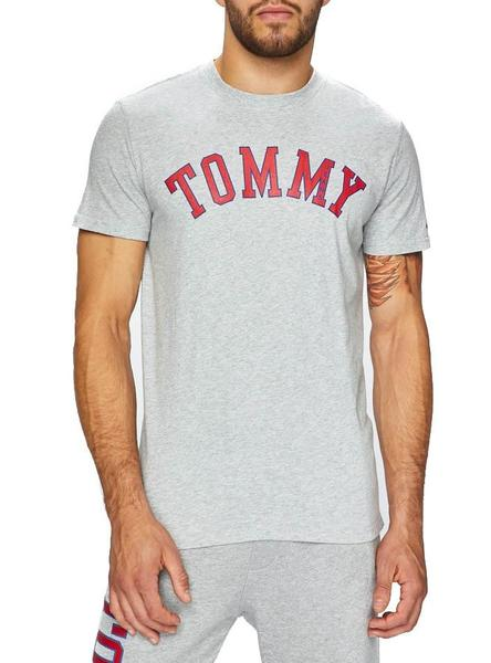 Camiseta Tommy Jeans Essential Gris