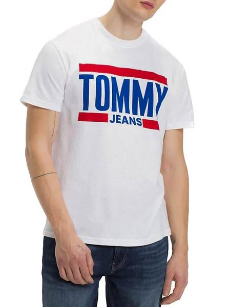 Camiseta  Tommy Jeans Essential Blanco