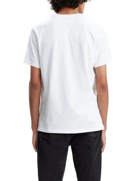 Camiseta Levis Relaxed Baby Tab Blanco Hombre