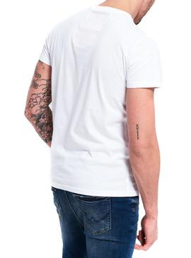 Camiseta Superdry Reworked Blanco