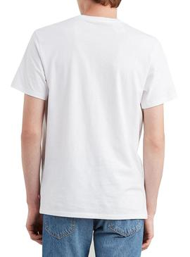 Camiseta Levis Housemark Graphic Blanco Hombre