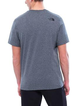 Camiset aThe North Face Fine Tee Tfn Gris Hombre