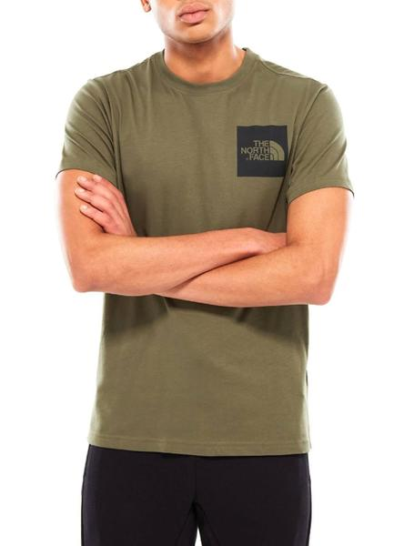 Camiseta The North Face Fine Tee Tnf Verde Hombre
