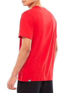 Camiseta The North Face Easy Tee Rojo Hombre