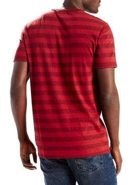 SS SUNSET POCKET TEE STRIPE NIGHT