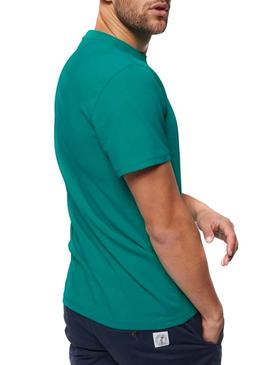 Camiseta Tommy Jeans Circle Verde Para Hombre