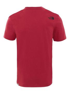 Camiseta The North Face Easy Red
