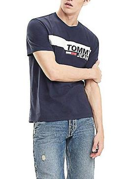 Camiseta Tommy Jeans Essential Box Marino Hombre
