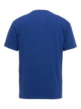 Camiseta Tommy Jeans Classics Azul Electrico