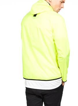 Cazadora G-Star Strett Hooded Amarillo Neon