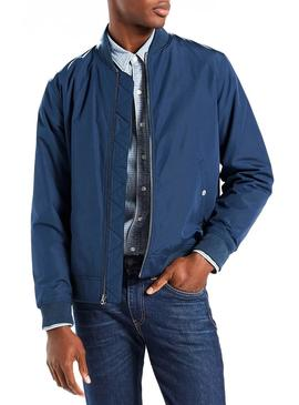 Bomber Levis Thermore Azul