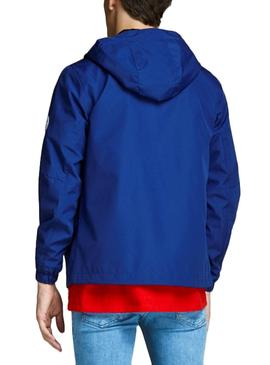 Cortavientos Jack and Jones Glave Light Azul