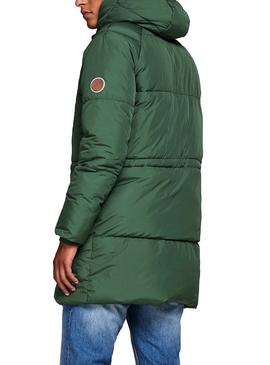 Parka Jack and Jones Jorfortune Verde Hombre