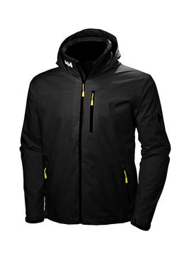 Cazadora Helly Hansen Crew Midlayer Hooded Negro