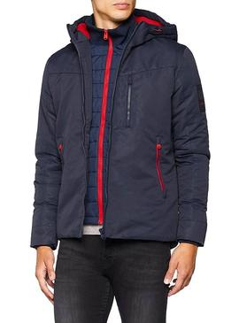 Cazadora jack and Jones Jocoten Marino para Hombre