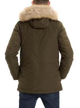 Parka Tommy Jeans Technical Verde