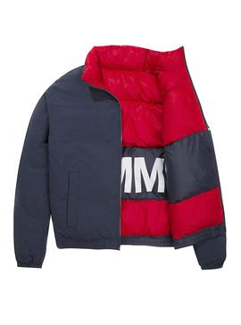 Cazadora Tommy Jeans Reversible Multicolor