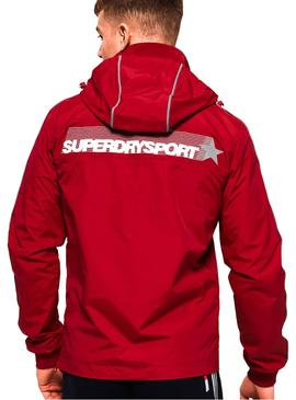Chaqueta Superdry Javelin Jammer Rojo Hombre