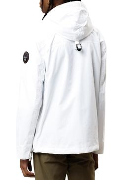 Chaqueta Napapijri Rainforest Summer Pocket Blanco