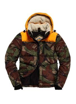 Cazadora Superdry SD Expedition Camuflaje Hombre