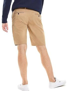 Bermuda Tommy Jeans Essential Chino Tostado Hombre