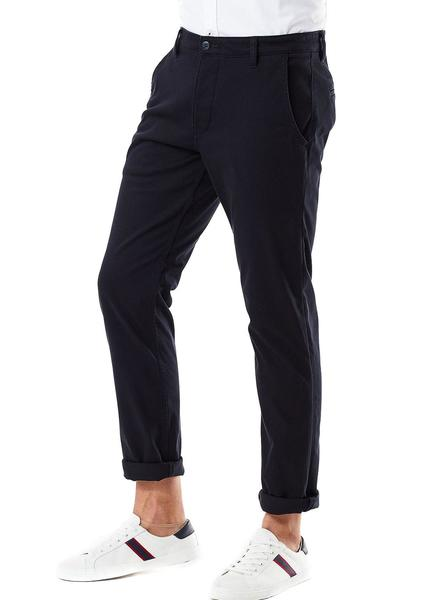 Pantalon Dockers Flex Tapered Marino Hombre