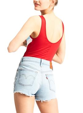Body Levis Florence Rojo Mujer