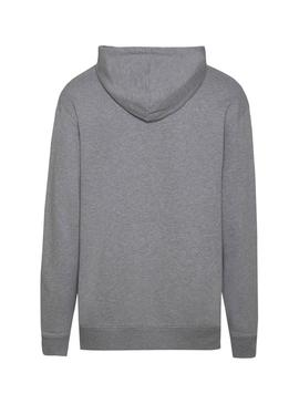 Sudadera Tommy Jeans Classic Hoodie Gris