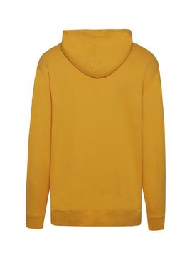 Sudadera Tommy Jeans Classic Hoodie Amarillo