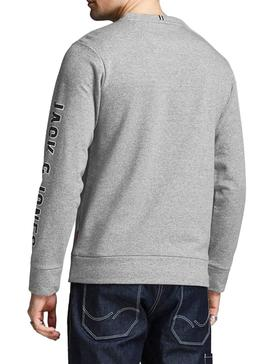 Camiseta Jack and Jones Viktor Gris Hombre